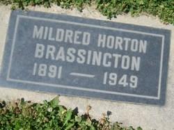 Mildred <I>Horton</I> Brassington