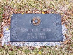 """Henrietta Caldwell """"Etta"""" <I>Edwards</I> Buford"""