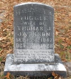 Margaret Amanda <I>Tuggle</I> Jackson