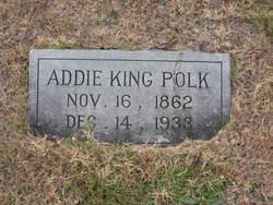 Addie <I>King</I> Polk