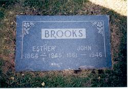 Esther <I>Rushton</I> Brooks