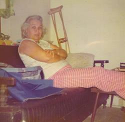 Gladys <I>Johnson</I> Franklin
