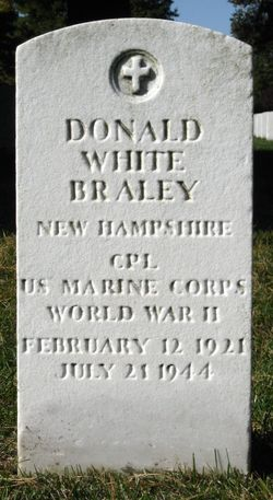 Corp Donald White Braley