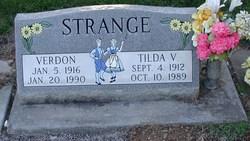 Verdon Earl Strange