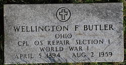 Wellington F Butler