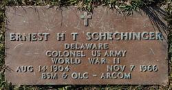 Ernest H T Schechinger