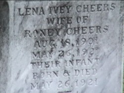 Lena Ivey <I>Gray</I> Cheers