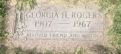 Georgia H Rogers
