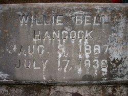 Willie Bell <I>Walker</I> Hancock