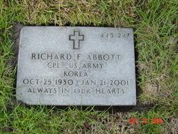 Richard F Abbott