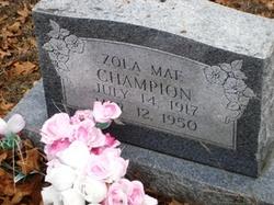 Zola Mae Champion
