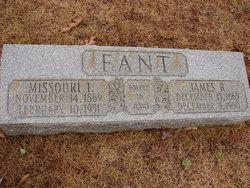 Missouri Idell <I>Dunn</I> Fant