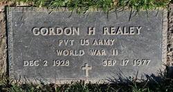 Gordon H Realey