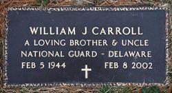 William J Carroll