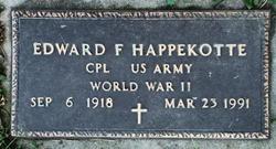 Edward F Happekotte