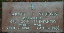 Harvey T Sturgis