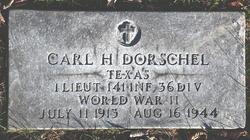 1LT Carl Herman Dorschel