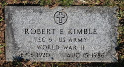 Robert Evans Kimble