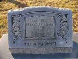Eva <I>Sinks</I> Bryant