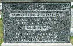 Mary <I>Healy</I> Enright