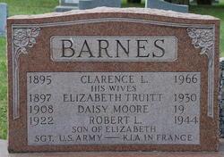 SGT Robert Langley Barnes