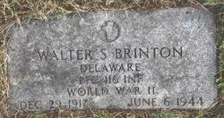PFC Walter S. Brinton