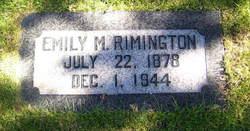 Emily Ellen <I>Mitchell</I> Rimington