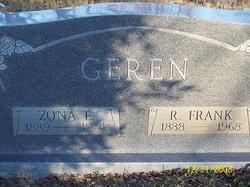 Zona Ethel <I>Tollett</I> Geren