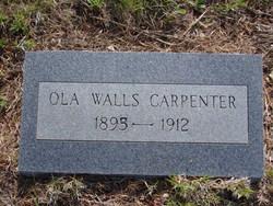 Ola <I>Walls</I> Carpenter