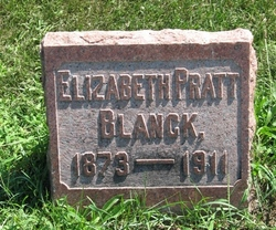 Elizabeth <I>Pratt</I> Blanck