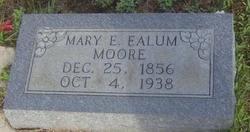 Mary Elizabeth <I>Ealum</I> Moore