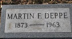Martin F Deppe