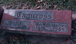 Donald Elmer Carncross