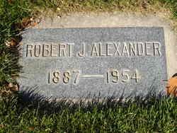 Robert J Alexander