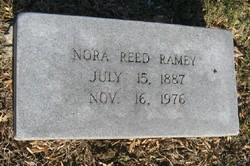 Nora <I>Reed</I> Ramey