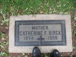 Catherine Frances Birck