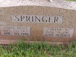 "Boyce ""Doc"" Springer"