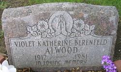 Violet Katherine <I>Berenfeld</I> Alwood
