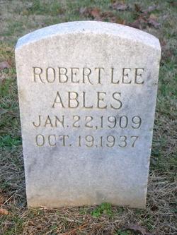 Robert Lee Ables