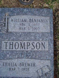 William Benjamin Thompson, Sr