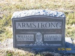 Mary Sophia <I>Downs</I> Armstrong