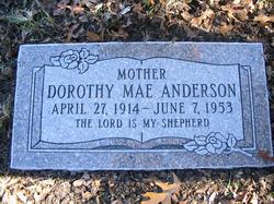 Dorothy Mae <I>Witherby</I> Anderson