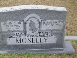 """John Sparkman """"Sparky"""" Moseley Jr."""