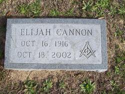 Elijah Cannon