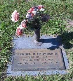 Lemuel Henry Crowder, Jr