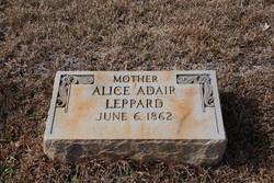 Alice <I>Adair</I> Leppard