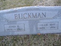 Lillie Mae <I>Sheffer</I> Buckman