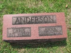 Anna Susan <I>Stuker</I> Anderson