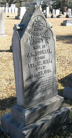 Nancy R. <I>Clark</I> Boswell