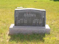 Ada <I>Johnson</I> Brown